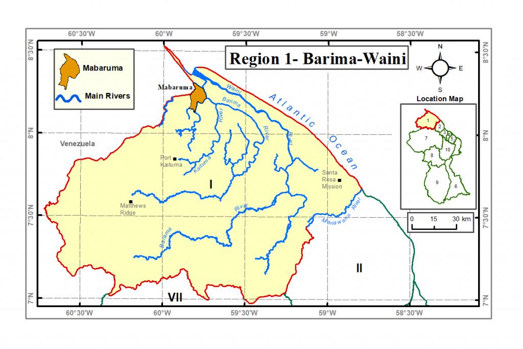 Region 1 Guyana