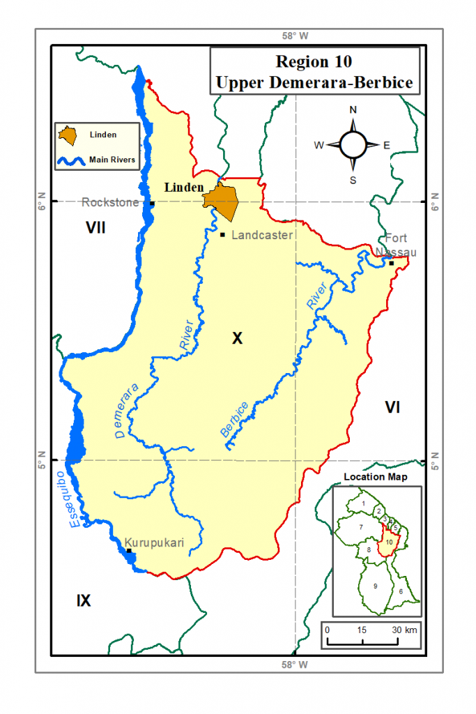 Region 10 Guyana