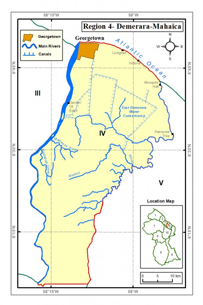 Region 4 Guyana