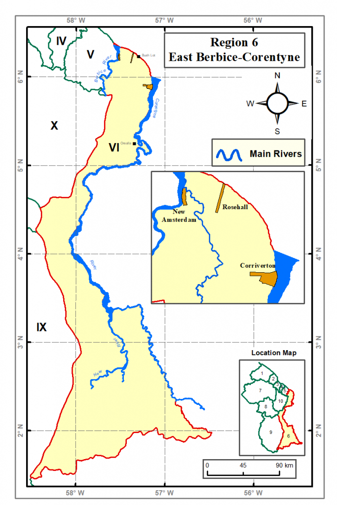 Region 6 Guyana