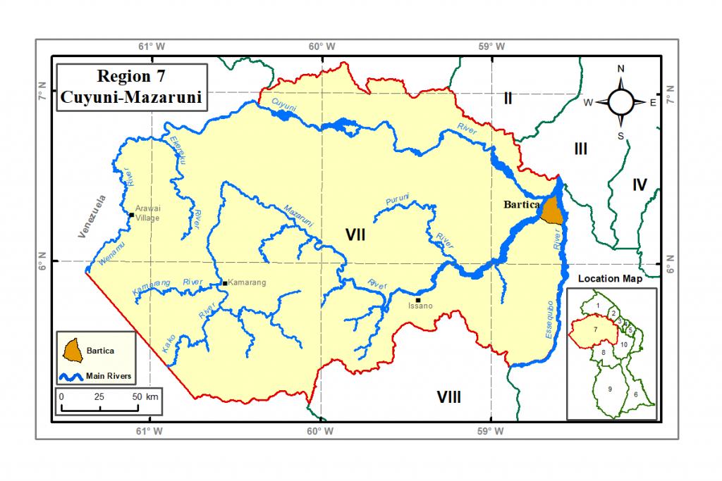 Region 7 Guyana