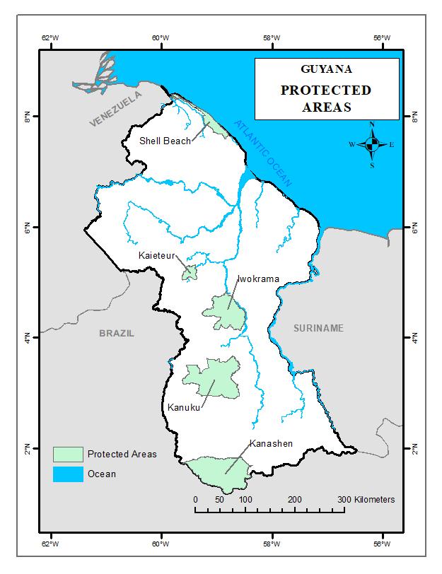 Protected Areas Guyana